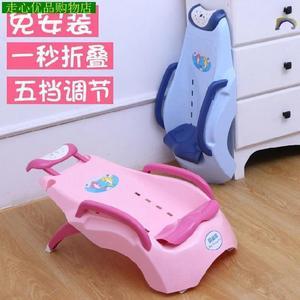 洗头躺椅1-6岁抖音同款大号洗澡凳宝宝洗头床洗发躺椅可折叠家用