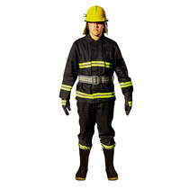 Fire Service 02 Type Fire clothing combat suit thickening fire suit set fire fighting protective clothing micro fire station