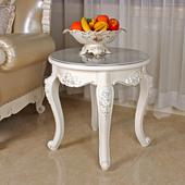 边几角几方几欧式小茶几沙发旁边转角边柜角机圆形桌子创意圆桌