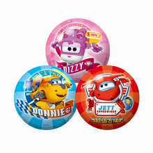 Super Pan cartoon inflatable racket racquet ball baby sports small ball 4 inch 2-6 years old children outdoor toys