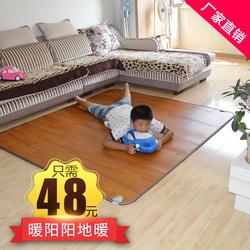 韩国碳晶移动地暖垫移动电热地板地毯电加热床垫地垫地热垫暖脚垫