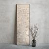 高茜x仟象映画 现代新中式玄关装饰画 竖版单幅挂画禅意酒店壁画