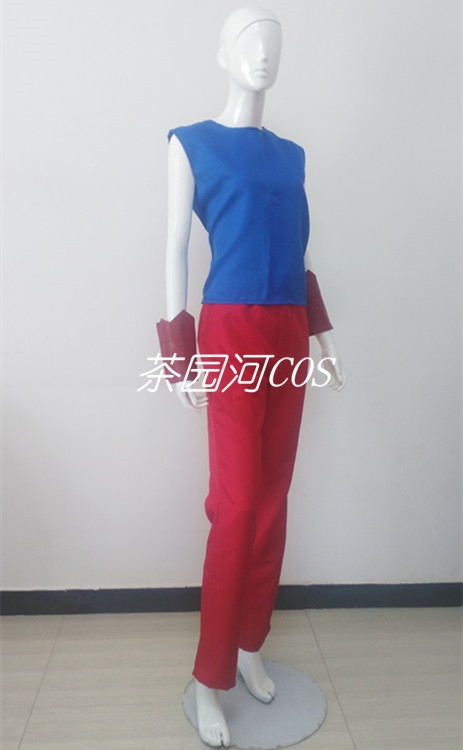 Saint fighter cos suit imitates hand made style Yihui tea garden river cos