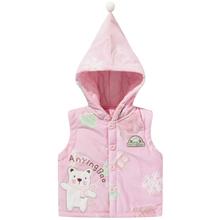 【特惠】冬季婴幼儿马甲卡通加厚保暖宝宝马夹#AYB2550