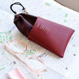 眼镜袋抗压便携布袋子男女款简约随身太阳镜墨镜包眼镜盒子收纳包