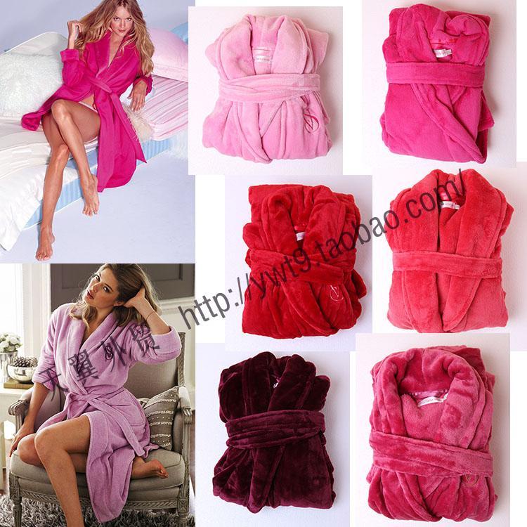 Виктор Ms осень/зима размер сгущаться более двойной Двусторонняя фланелевой пижамы ночной рубашке одеяние сидя дома пакет почты