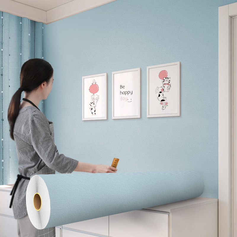 30米墙纸自粘卧室背景墙壁纸温馨墙面装饰防水防潮桌面衣柜贴纸