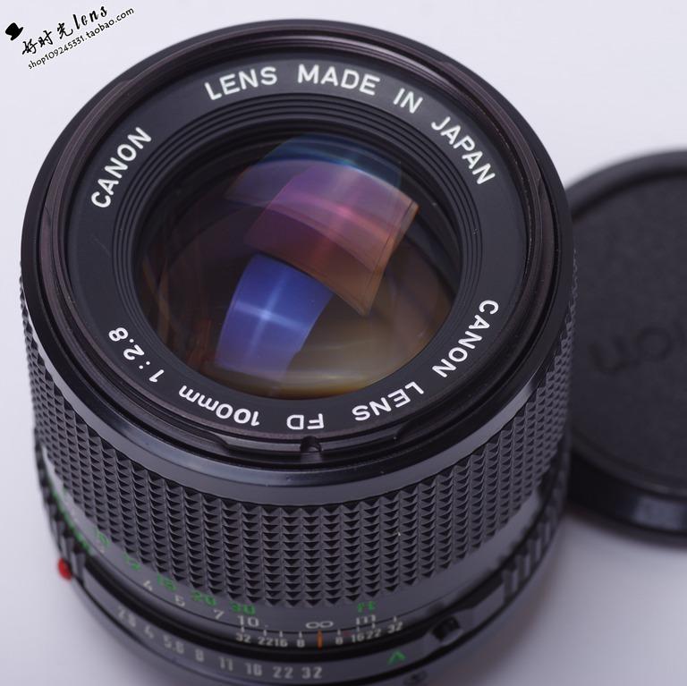 佳能 CANON NFD 100/2.8 手动 人像镜头 微单 NEX M4/3 FX 二手