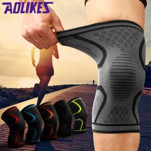 运动护膝男女户外空调房深蹲透气跑步骑行篮球膝盖半月板保暖护具