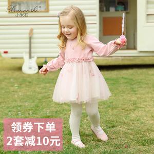 女童连衣裙洋气长袖秋冬秋季儿童小童女宝宝婴儿春秋公主裙子秋装