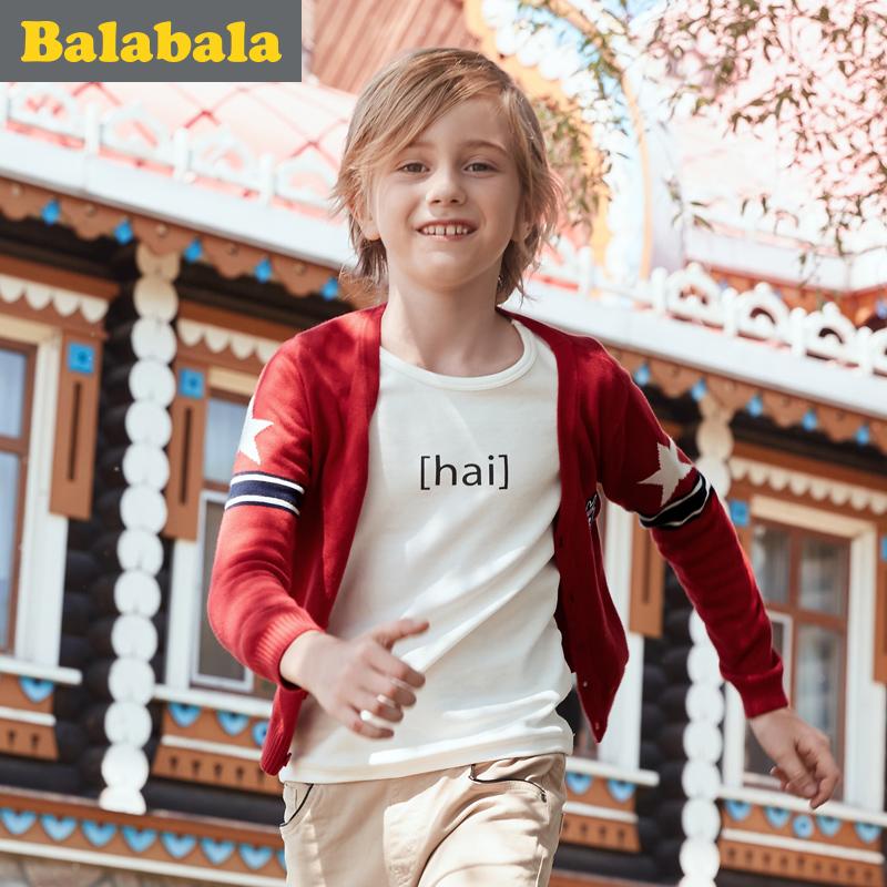 巴拉巴拉男童兒童春秋毛衣