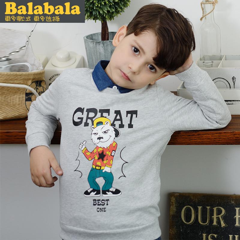 巴拉巴拉兒童中大童衛衣