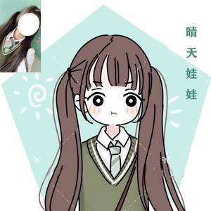 【玲珑安】Q版人物卡通情侣漫画头像定制照片手绘简笔画插画设计