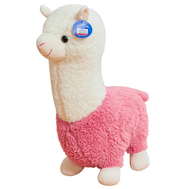 创意搞怪草泥马羊驼公仔可爱抱枕好用吗