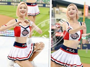 韩国女团ds演出服拉拉队啦啦操健身足球篮球宝贝学生团体服装 新款