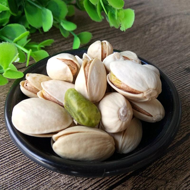 开心果无漂白本色大颗粒 坚果干果炒货零食  自然开口 250克