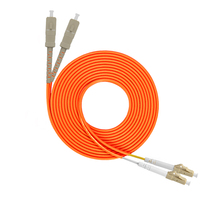 Tanghu Lake SC-LC 3 m Multi-mode dual-core fiber jumper 5 15m fiber optic cable tail fiber pair Customizable