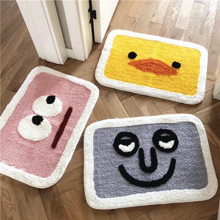 日式防滑垫卧室毯厚门垫质量怎么样