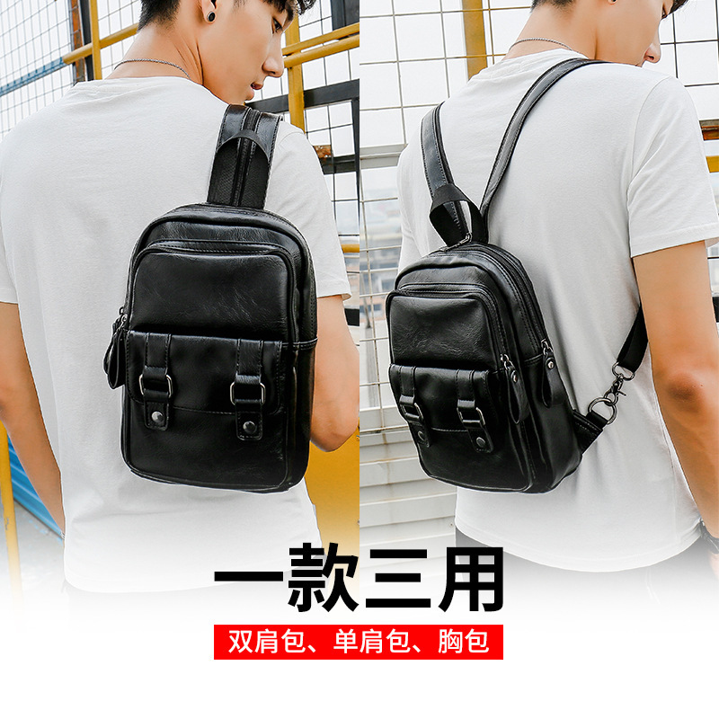 Mini Backpack male Korean student schoolbag simple small backpack women fashion fashion brand 2020 new small mens bag