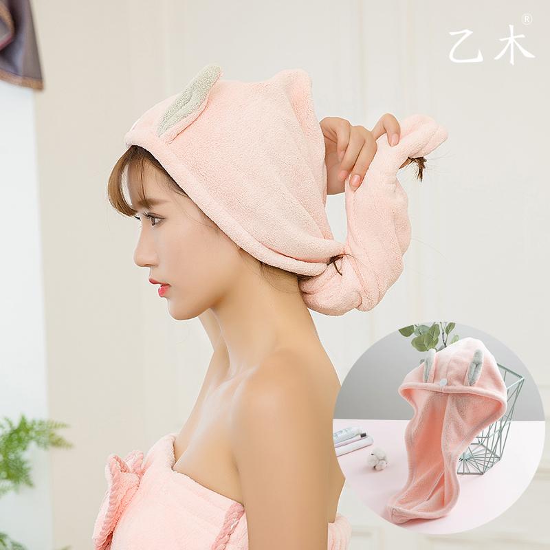 包头巾干发帽女吸水速干可爱卡通浴帽洗头毛巾擦头发神器加厚超强(用20元券)