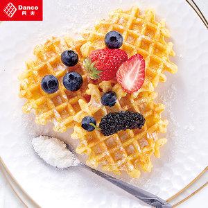丹夫格乐华夫饼120g*4盒原味黄油味西式糕点零食早餐点心蛋糕饼干