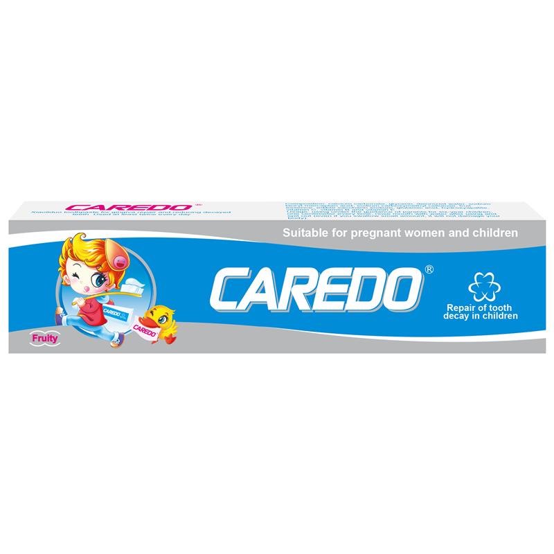 效力多【CAREDO美国已销售六年】修复儿童蛀牙龋齿牙膏,官方正品