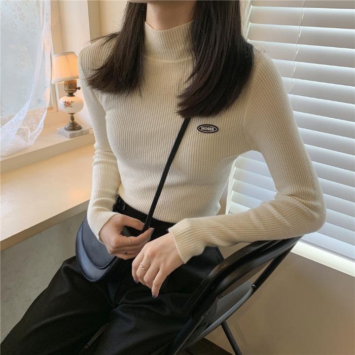 2019新款秋季长袖外套慵懒风针织衫