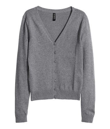 German H & M basic cotton blended v-shirt slim knit cardigan sweater in stock