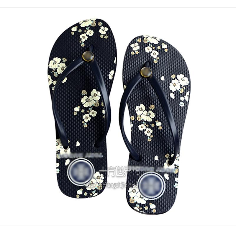 2021春夏新款时尚平底人字拖女橡胶耐磨防滑沙滩夹脚拖鞋女凉鞋