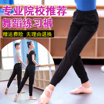 Practicing Dance pants female ballet body radish pants practice suit black loose pants trousers male closing autumn thickening