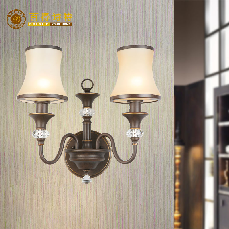 Double head wall lamp ha1012 for interior living room corridor corridor