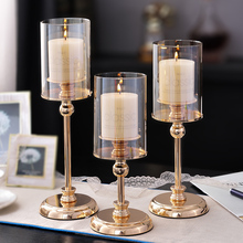 European-style home retro candlelight dinner props Romantic Candleholder Candleholder