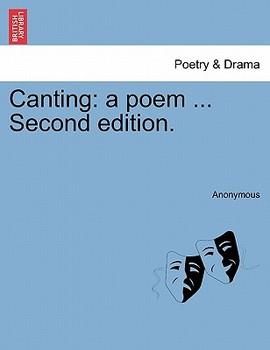 【预售】Canting: A Poem ... Second Edition.