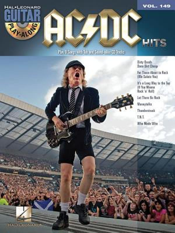 【预售】AC/DC Hits [With CD (Audio)]