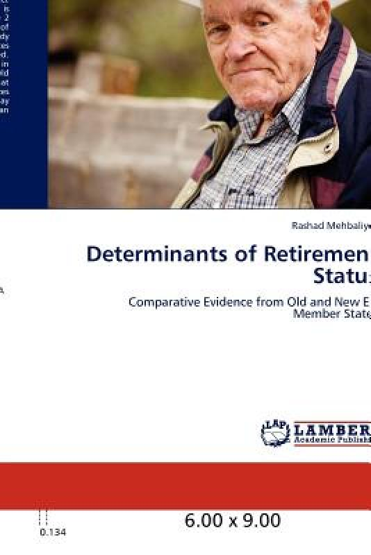 【预订】Determinants of Retirement Status