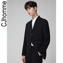 CJHOMME 2019新しい春の新ファッションハンサムジャケットの男性の韓国のネット赤いスーツ男性の潮