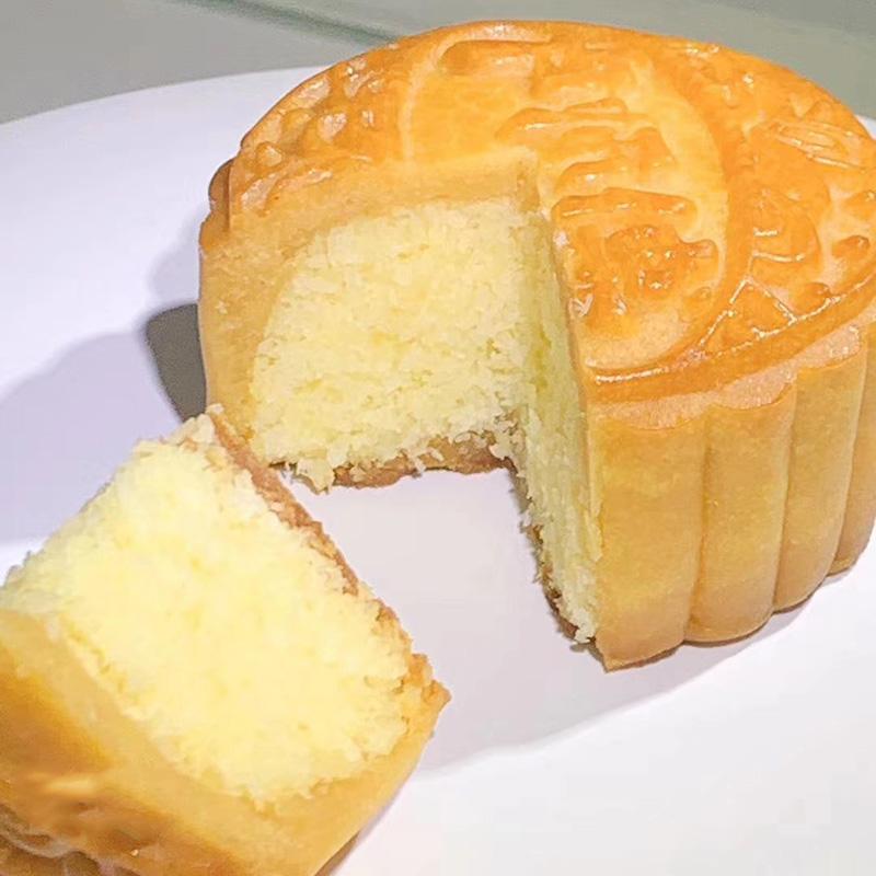 卢师傅月饼奶油椰蓉小月饼椰奶甜点椰丝球小零食清真奶油椰蓉蛋糕