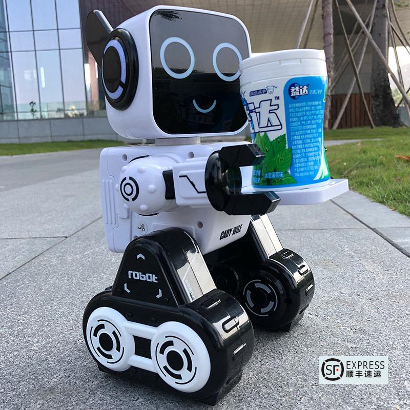 儿童机器人智能对话会说话遥控玩具