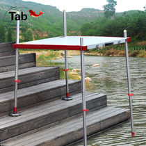 tab Fishing Big Fishing table 2018 new Ultra Light multifunctional thickened aluminum alloy fishing table Telescopic legs foldable