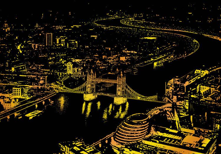 Панорамный лондон