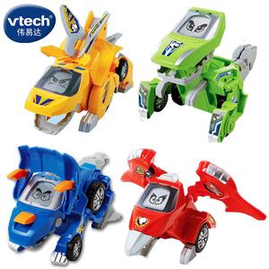 伟易达变形恐龙vtech霸王龙剑三角龙<span class=H>儿童</span>男孩<span class=H>玩具</span>汽车变形机器人