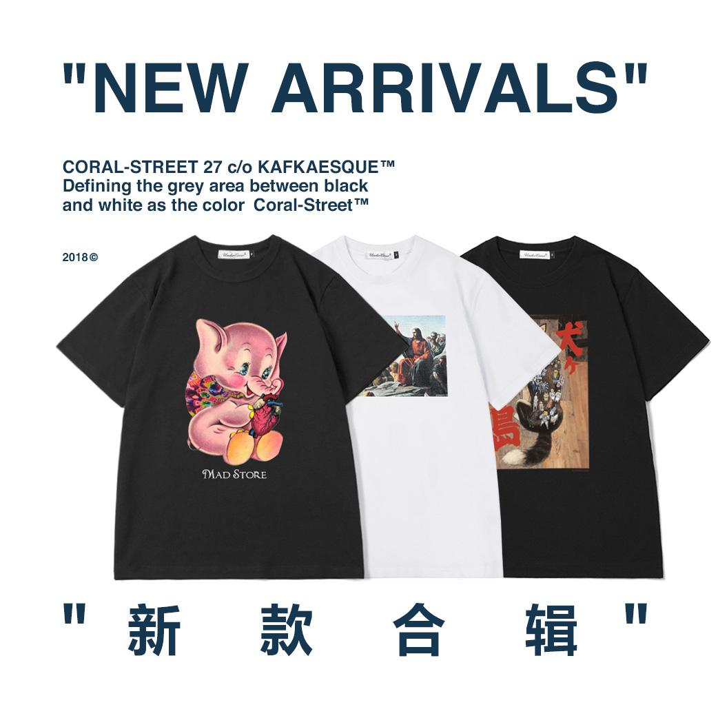 UC新款合辑 高桥盾undercover纯棉男圆领T恤短袖TEE情侣款T-shirt