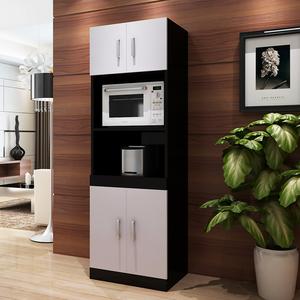 简约微波炉烤箱柜电饭煲柜子储物收纳柜碗茶水柜橱柜餐边柜厨包邮