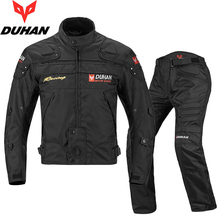 Duhan cycling suit, motorcycle cycling suit, men's four seasons jacket, racing suit, anti falling off-road motorcycle suit, winter