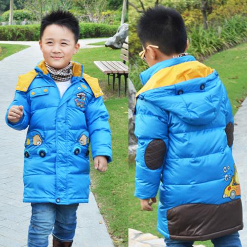 Дети 2014 новых вниз куртка зимняя мальчиков мягкий аутентичные Детская одежда пуховик вниз куртка лайнера