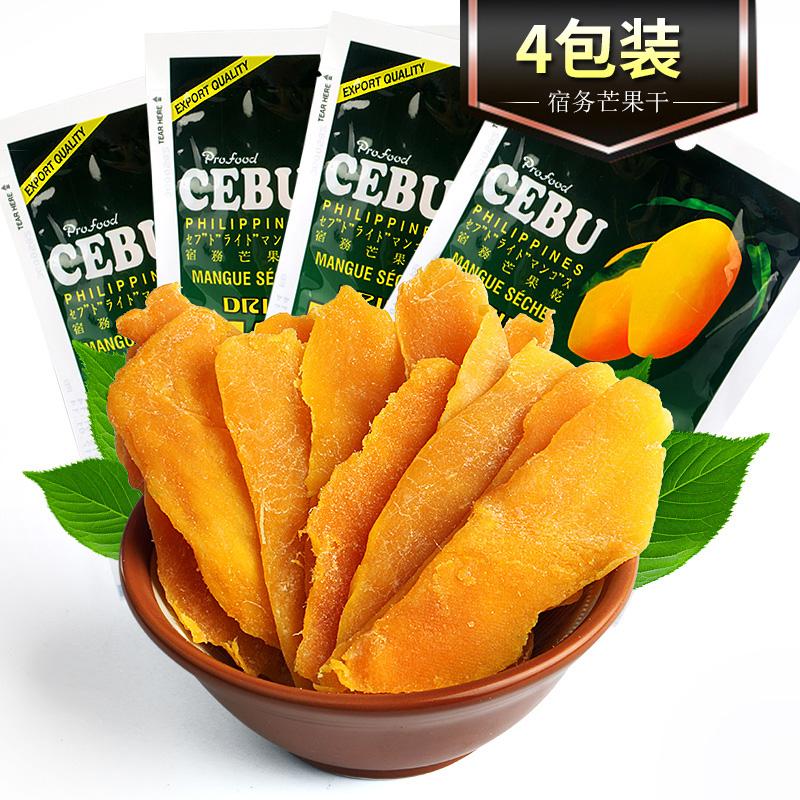 菲律宾进口 CEBU宿雾网红芒果干果肉100g*4包 宿务新鲜果脯特产图片