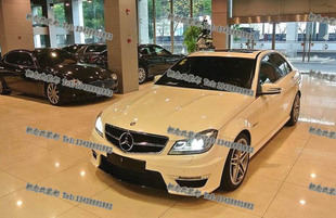 11 13 new models Mercedes Benz C Class W204 Tai Wai C300 C180K C260 C200 C63 AMG change