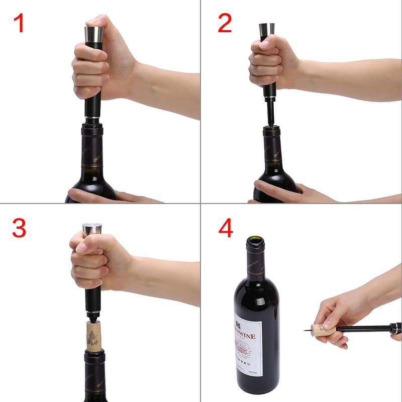 英爵斯紅酒開瓶器 葡萄酒開酒器起酒啟瓶器氣壓針起瓶起子酒具