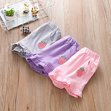 Xiaoxianwa 2020 girls' casual shorts pure cotton babies wear children's pants outside in summer and children's beach pants