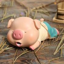 网红小猪存钱罐可存取储蓄大人用储钱大容量儿童男孩生日礼物耐摔